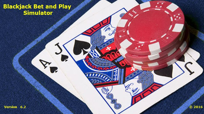 Blackjack Bet and Play Simulator